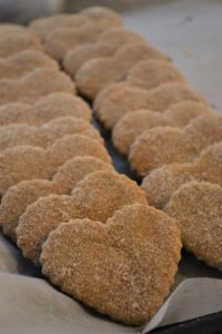 Pinnies & Poppy Seeds - Heart Shaped Shortbread