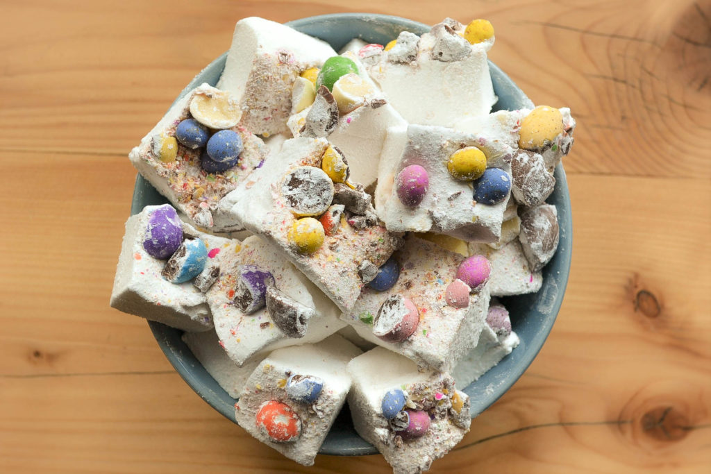 The Marshmallow Lady - Mini Egg Mallows