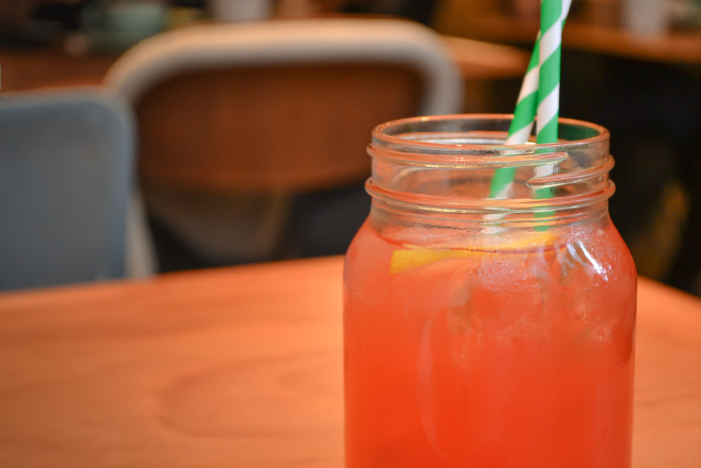 Peck 47 - Strawberry Basil Lemonade