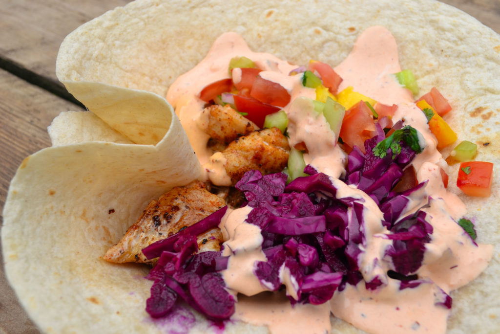 ShrimpWreck - Fish Taco