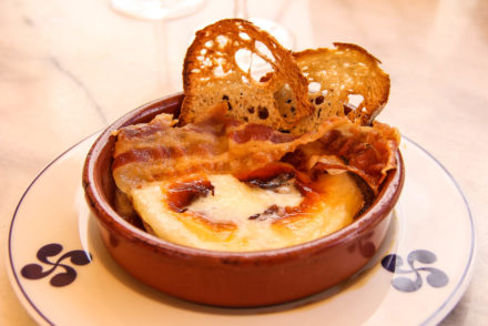 La Galupe - Baked camembert with bacon