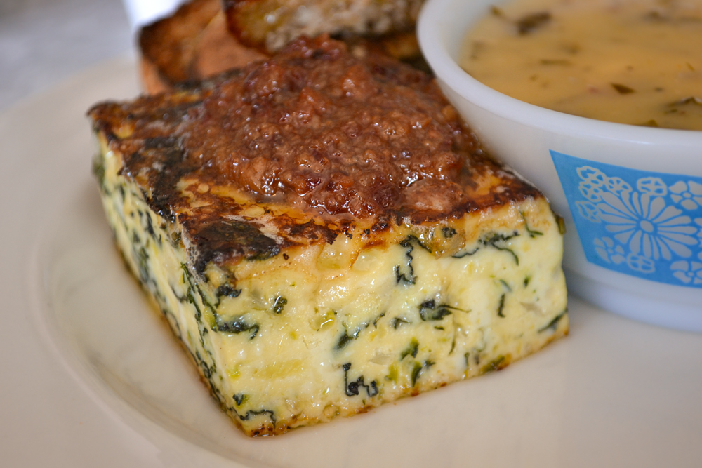 The Diner House 29 - Crustless Quiche and Maple Bacon Jam
