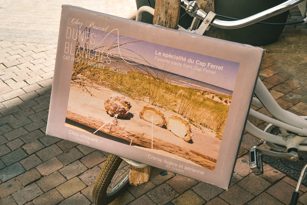 Chez Pascal Dunes Blanches - Bike Sign