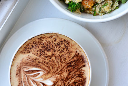 Aran Bakery - Cappucino and Salad Bowl