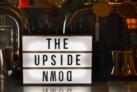 The Upside Down - Sign Header