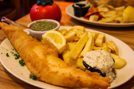 Golden Union - Fish and Chips